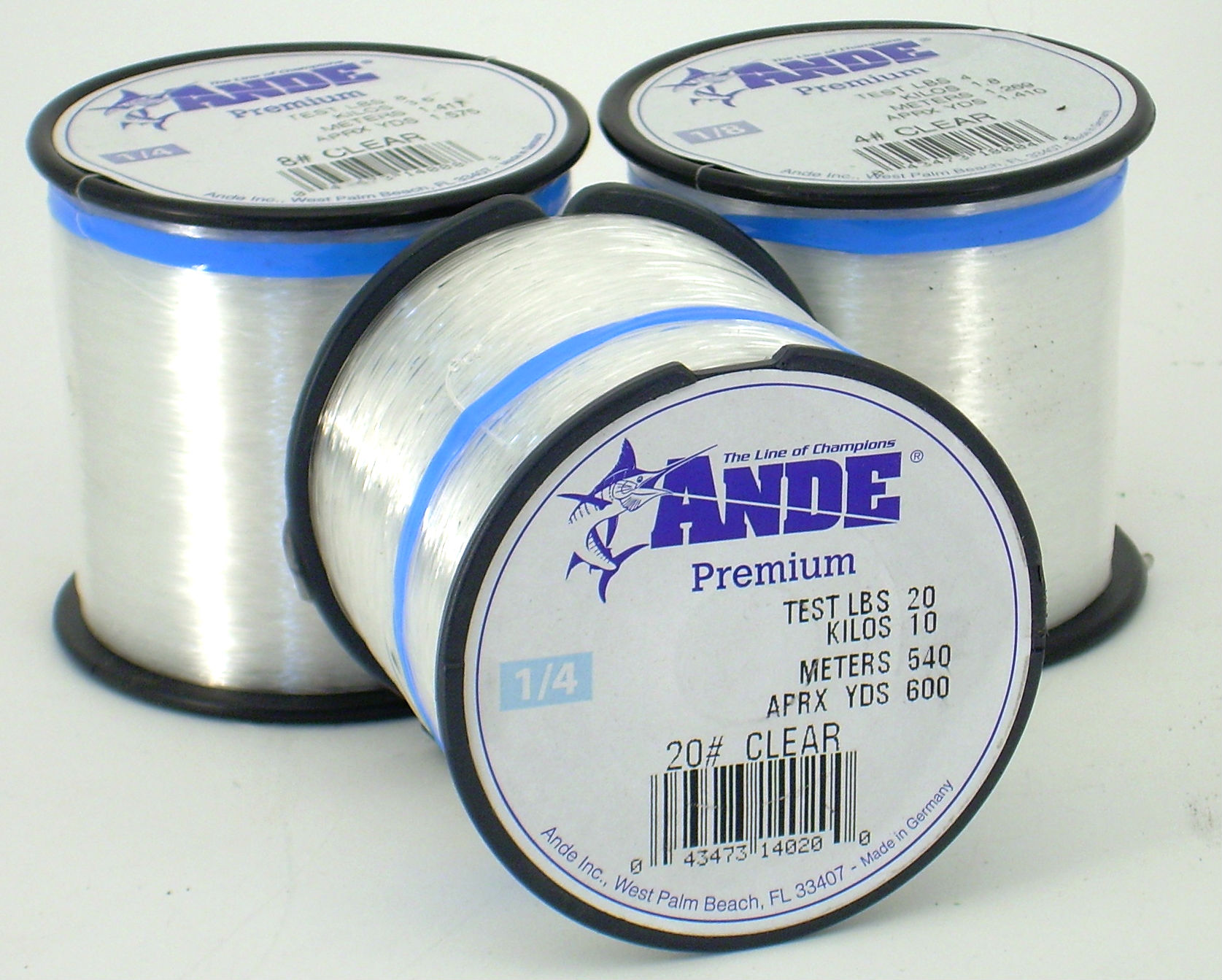 Monofilament fishing line 20 test apx 600 yds for Fishing line test