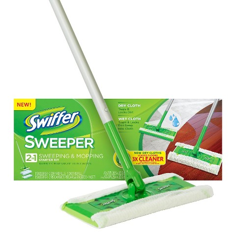 Swiffer Sweeper Original Dry Amp Wet Mop Starter Kit