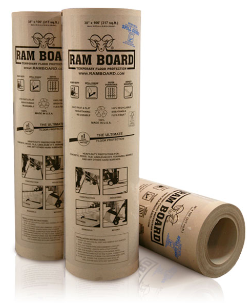 Ram Board 38″ X 100′ Temporary Floor Protection