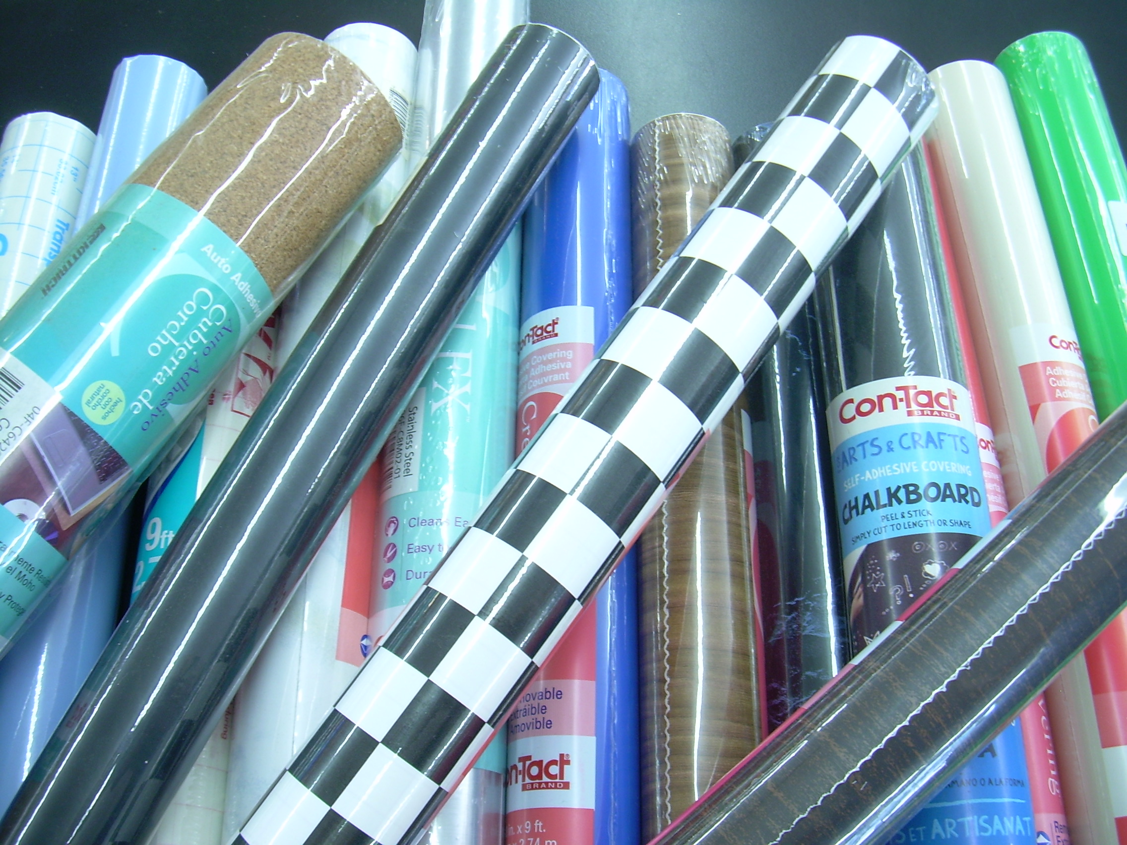 Con Tact Brand Vinyl Self Adhesive Contact Paper